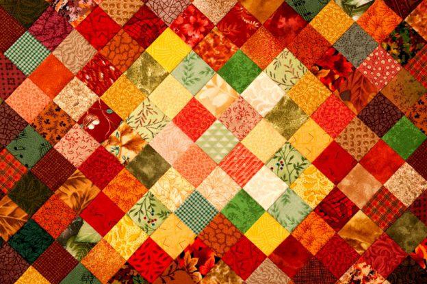 Треугольное одеяло
