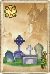 Ленорман Царский Путь, Гроб (Кладбище)