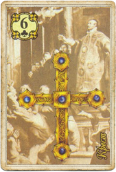 Ленорман Царский Путь, Крест