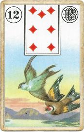 Пятник Ленорман. Птицы