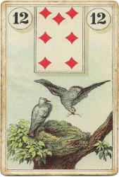 Ленорман Лауры Туан. Птицы
