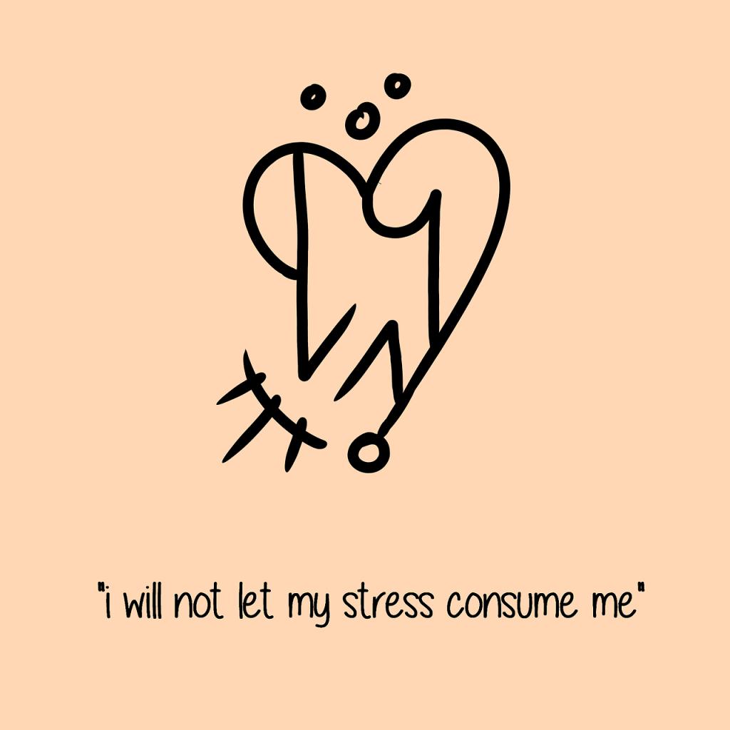 стресс не поглотит меня